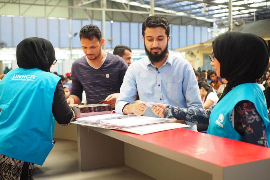 UNHCR ah na fa benh ning